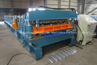 Taiwan Quality Double Layer Metal Rolling Machine met ISO-kwaliteitssysteem